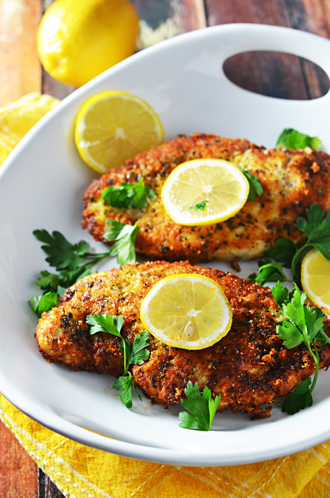how to make breaded chicken breast in oven