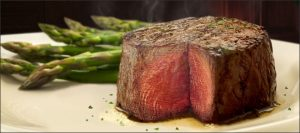 Filet Mignon and Asparagus
